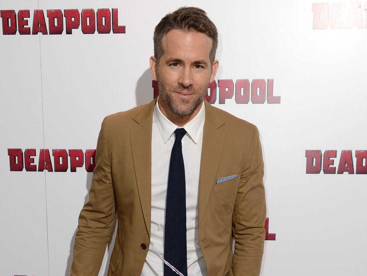 Ryan Reynolds attending a special Fan Screening of Deadpool at The Soho Hotel, London.
