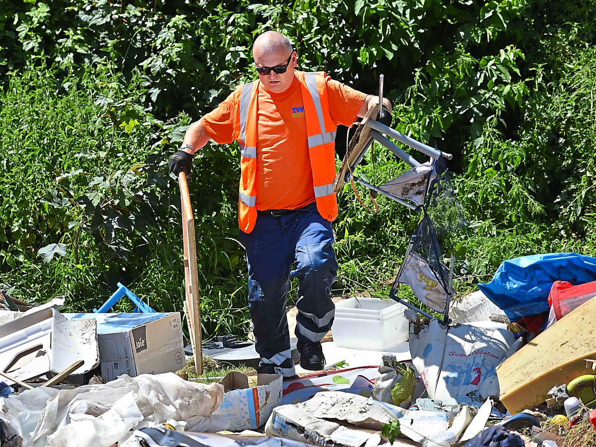 Revealed: £320,000 spent on Shropshire fly-tipping clear-up