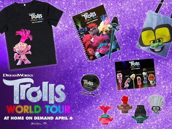 WIN: A Trolls World Tour merchandise package