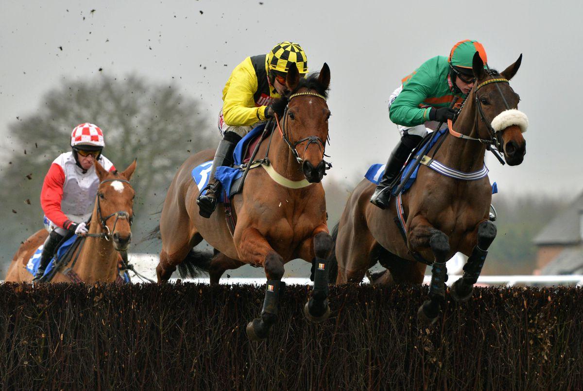 Ludlow Races by John Sambrooks