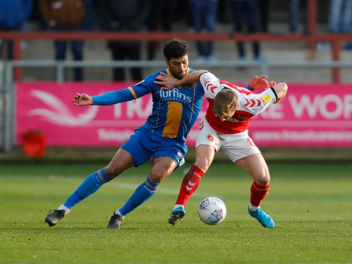 Fleetwood Town 2 Shrewsbury Town 2 - Report and pictures