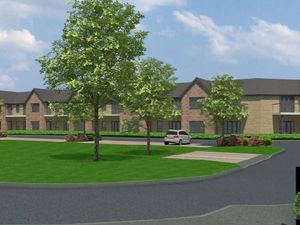 How the retirement complex extension will look.