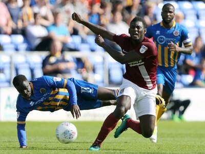 Shrewsbury Town sign defender Aaron Pierre