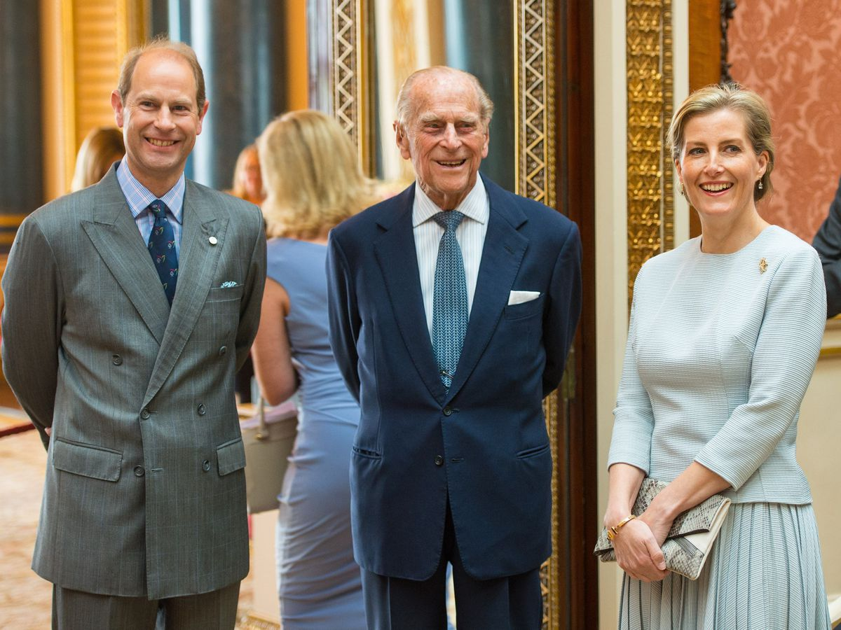 Edward, Philip and Sophie