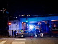 Two police officers die after being struck by train in Chicago
