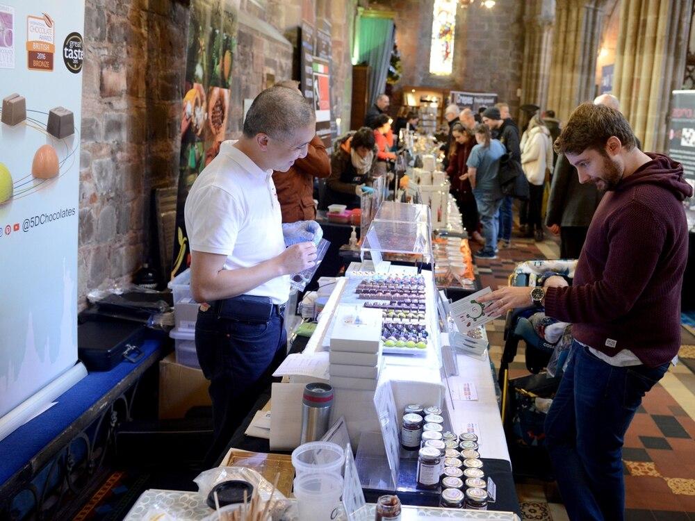 Sweet! Two-day chocolate festival returns to Shrewsbury