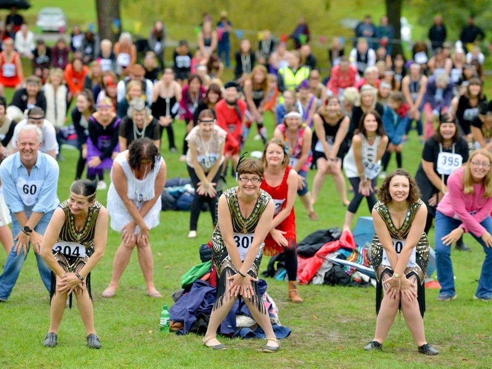 Dancing for joy! 1,096 Shrewsbury Charleston dancers score official world record