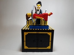 This guy recreates classic illusions with incredible moving Lego sculptures
