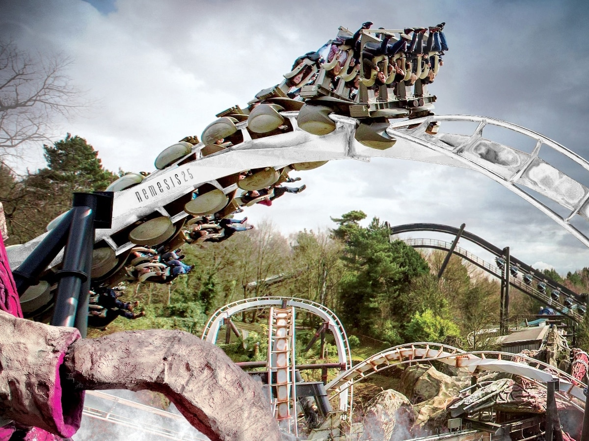 25 years of Nemesis at Alton Towers