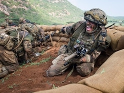 See the award-winning action shots by Shropshire Army photographers