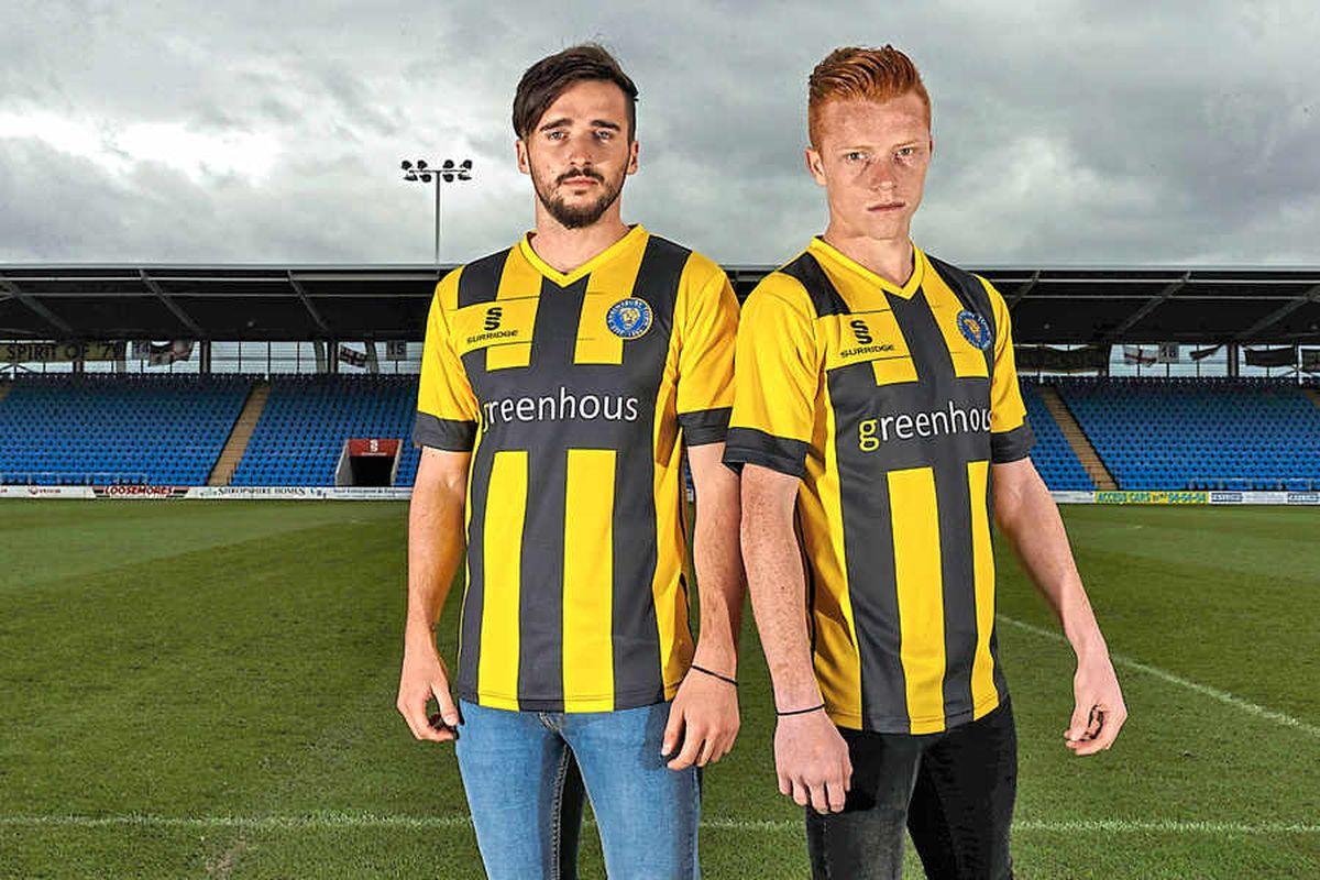 Shrewsbury Town unveil new away kit