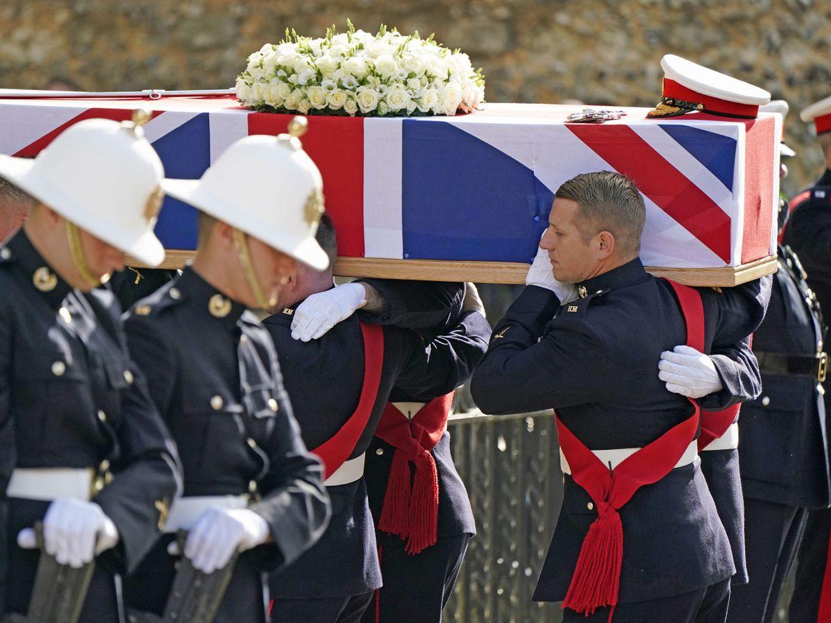 Major General Matthew Holmes funeral
