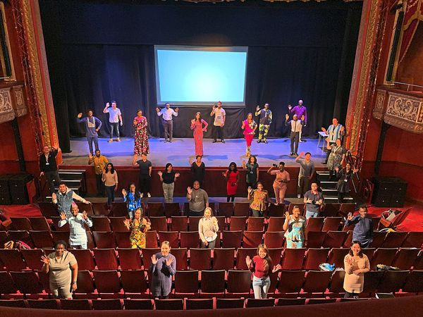 The Grand Theatre has hosted training sessions for NHS workers