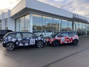 Rybrook BMW is offering three electric cars to charities in Shropshire
