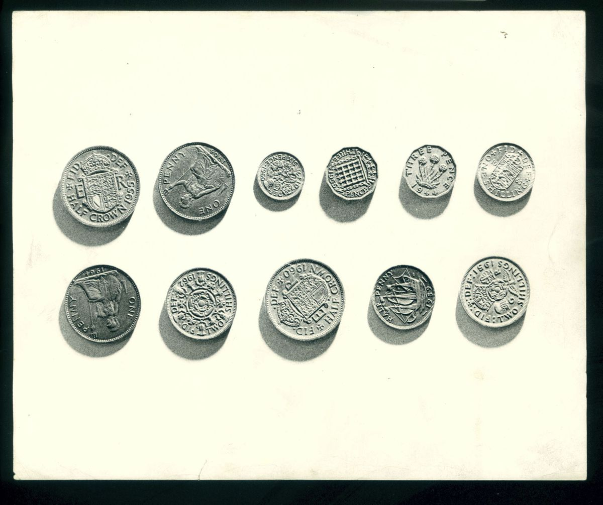 Decimalisation marked the end of the old coins