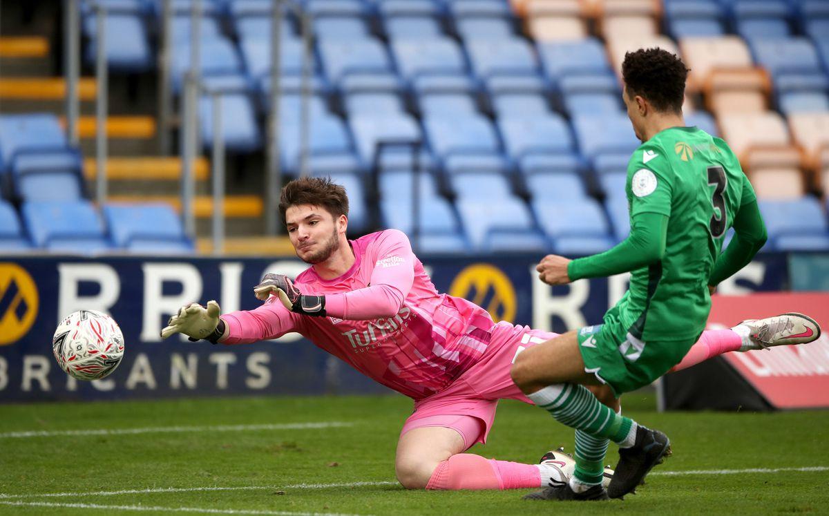 Matija Sarkic has enjoyed a fine season on loan at Shrewsbury