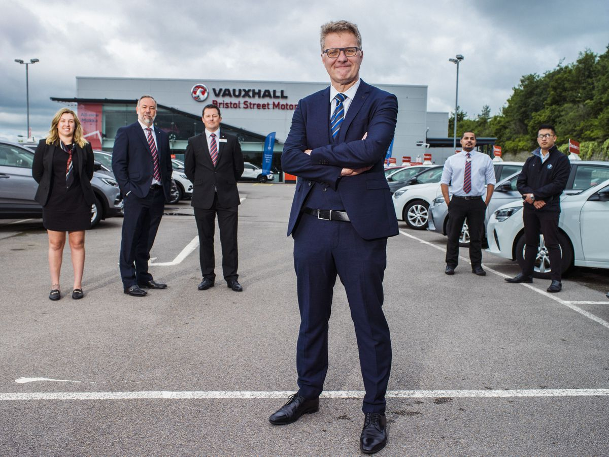 Robert Forester, chief executive of Bristol Street Motors, is featured in ITV's new series of Undercover Big Boss