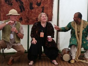 Storytellers Andy Harrop Smith, Shonaleigh, and Peter Chand