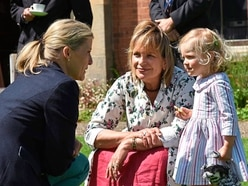 Countess Sophie has smiles and questions on Shropshire visit