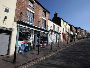 Ironbridge, which would normally be bustling with day trippers and tourists, has been empty during the last few days