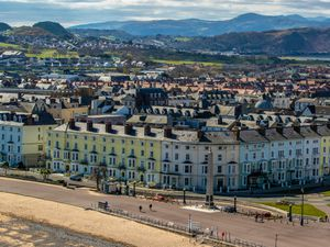 The seafront at Llandudno, north Wales (Peter Byrne/PA)