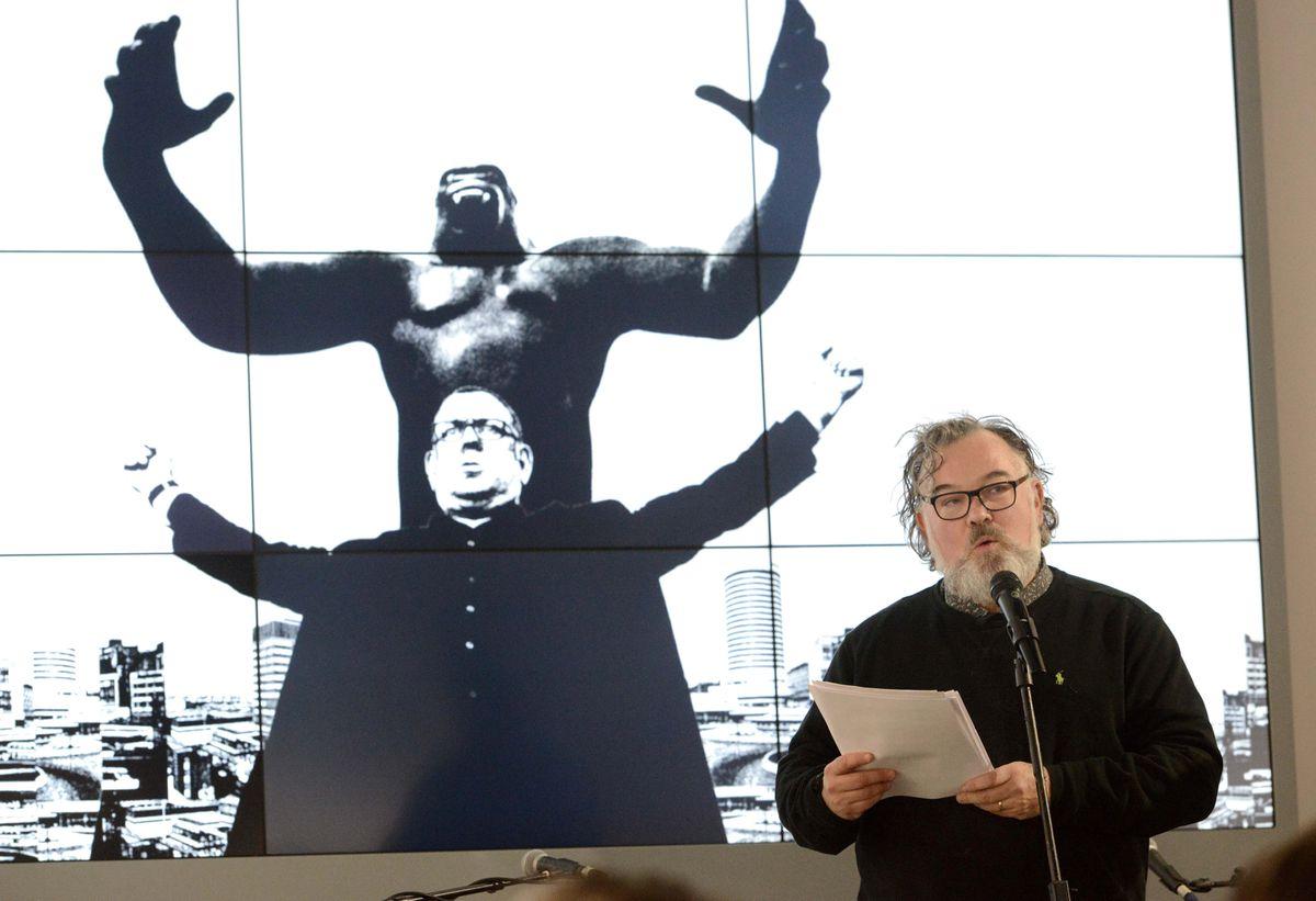 Stewart Lee spoke about his film at the Wolverhampton Literature Festival in 2019, when it was still in development