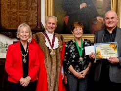 New town mayor takes up her post in Bridgnorth