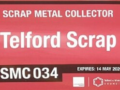 Sign of the times for legal scrap dealers in Telford
