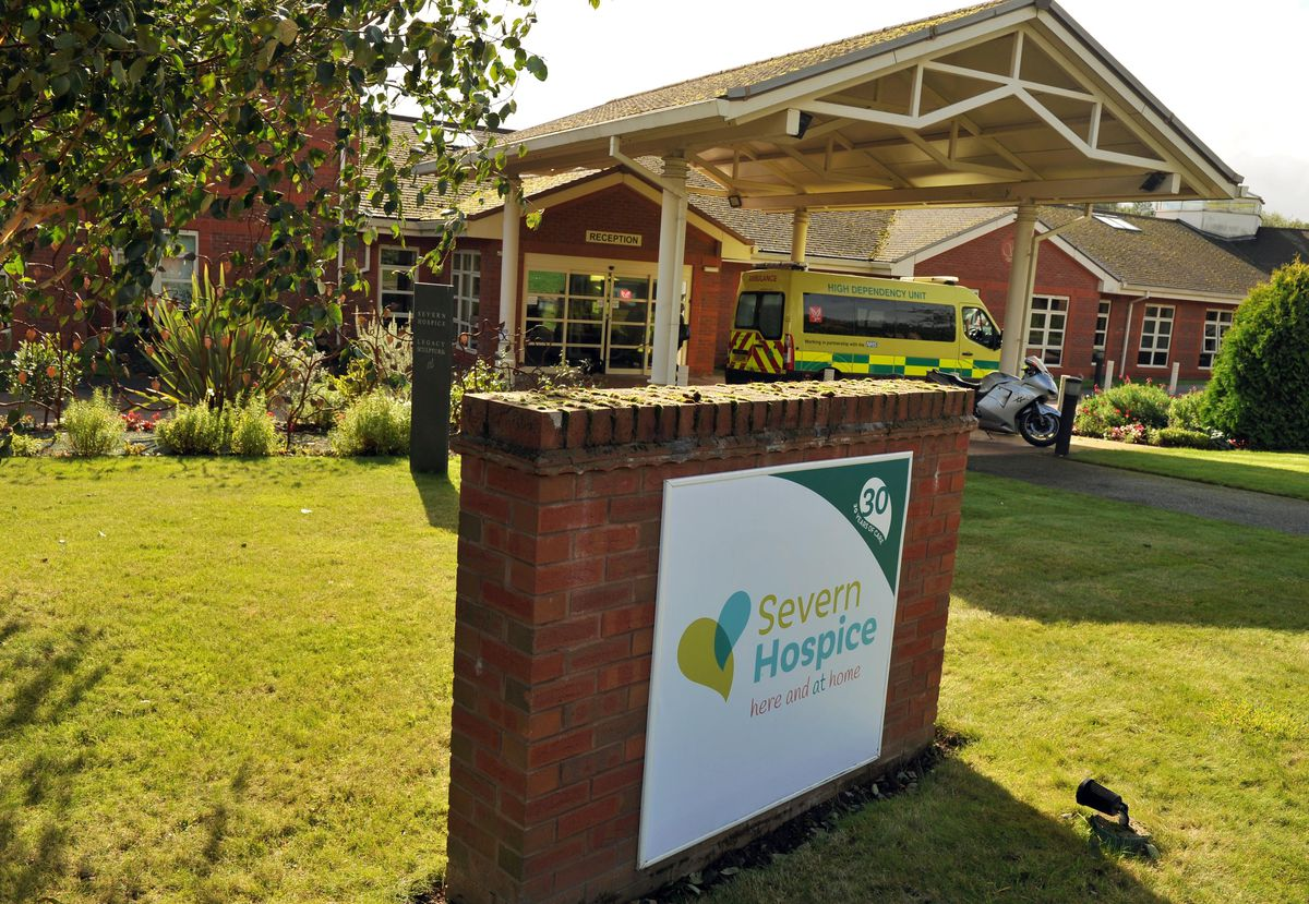 Severn Hospice is trying to cope with the loss of around £100,000 a week