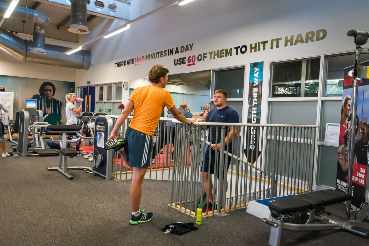 Gyms will be open in England, but not Wales