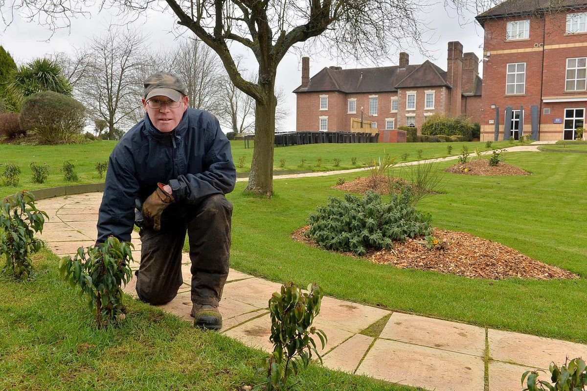 Paul Chandler, a groundsman at the hotel