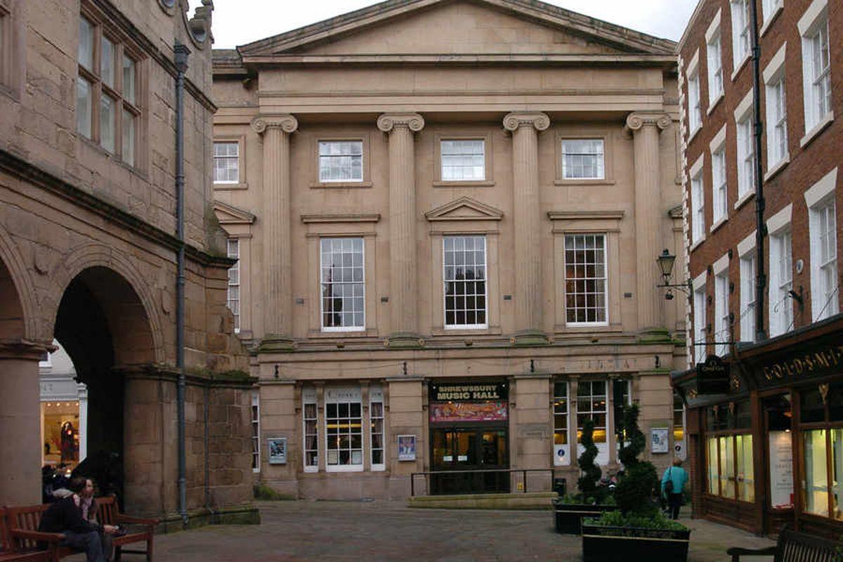 The former Shrewsbury Music Hall