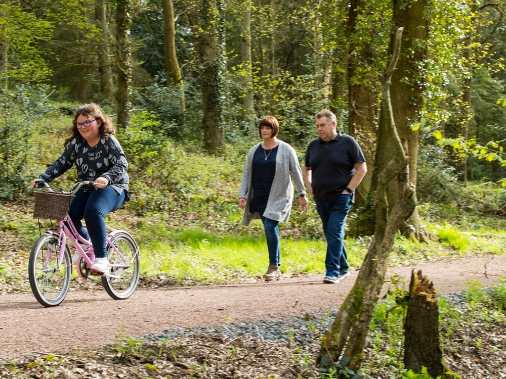 Hall to improve woodland trail