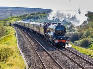 The Northern Belle will be coming to Shropshire
