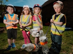 Youngsters give up their Saturday for Bridgnorth litter pick