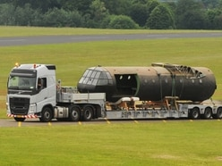 Sad goodbye as journey 'home' from Cosford starts for iconic Horsa glider - with video