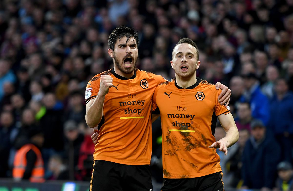 Ruben Neves (aged 20) and Diogo Jota (21) are part of Wolves' future (© AMA / Sam Bagnall)
