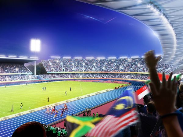 There's now less than a year to go until the 2022 Commonwealth Games get underway. Photo: Birmingham City Council