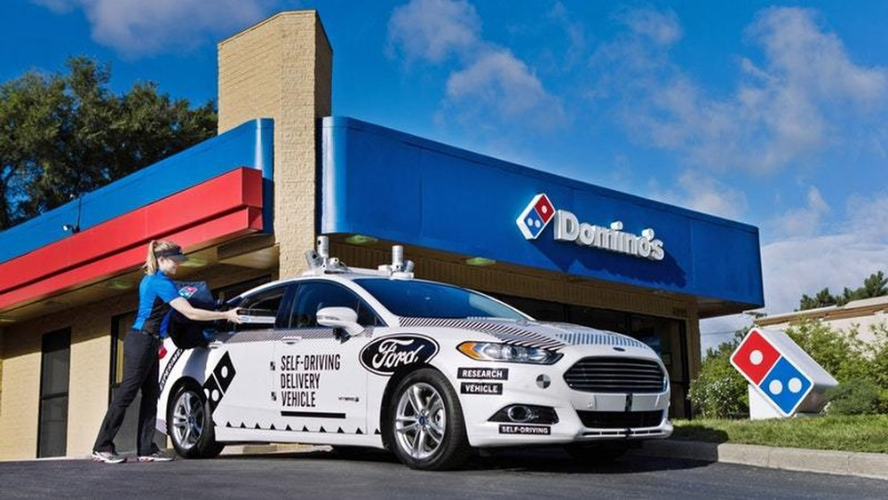 Could a Self-Driving Car Replace Your Pizza Delivery Boy?