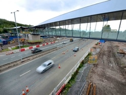 Finishing touches as new Telford footbridge nears opening