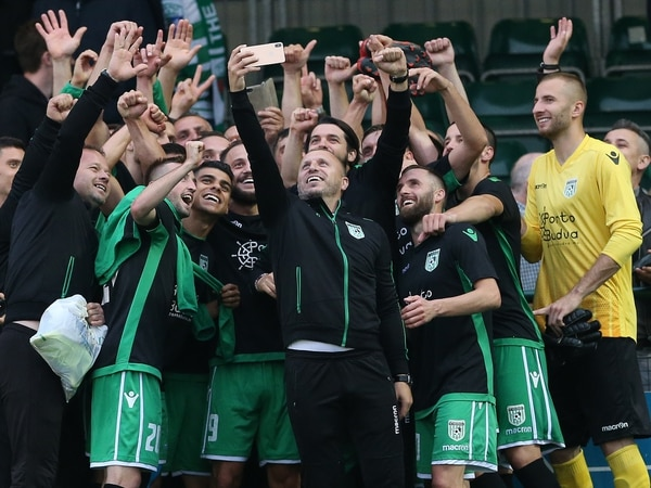 Late double shocks The New Saints in Champions League qualifier