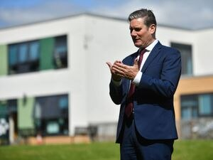 Labour leader Sir Keir Starmer says people in Shropshire have been let down during the pandemic