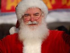 Santa Claus joins Llanfair Caereinion Christmas lights switch-on