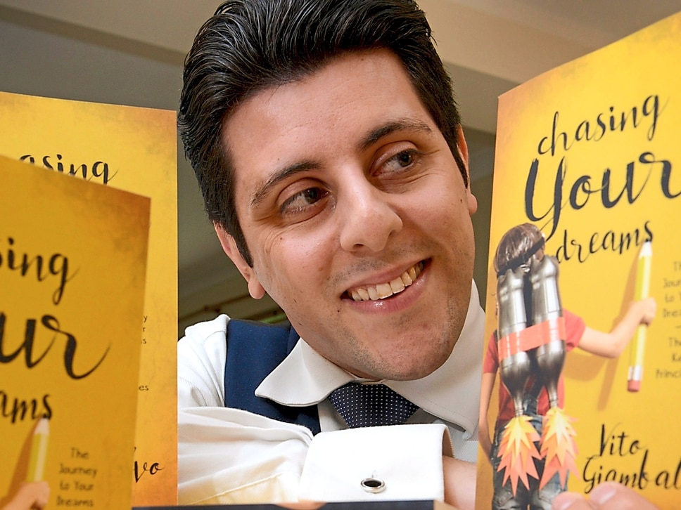 Claverley author launches motivational book