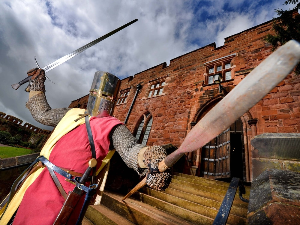 Historic knights in call to arms for reenactments