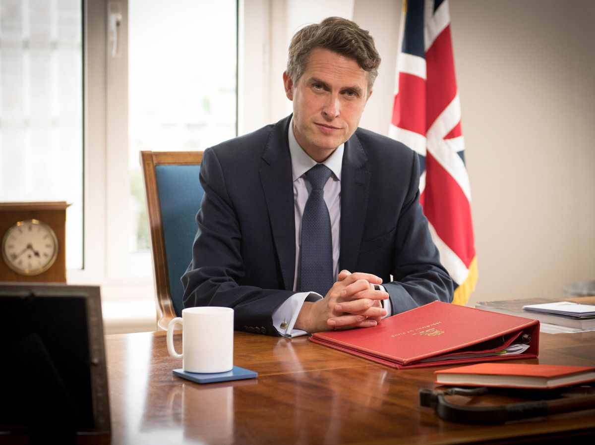 Gavin Williamson was not in direct control of the situation early in the pandemic, according to the report