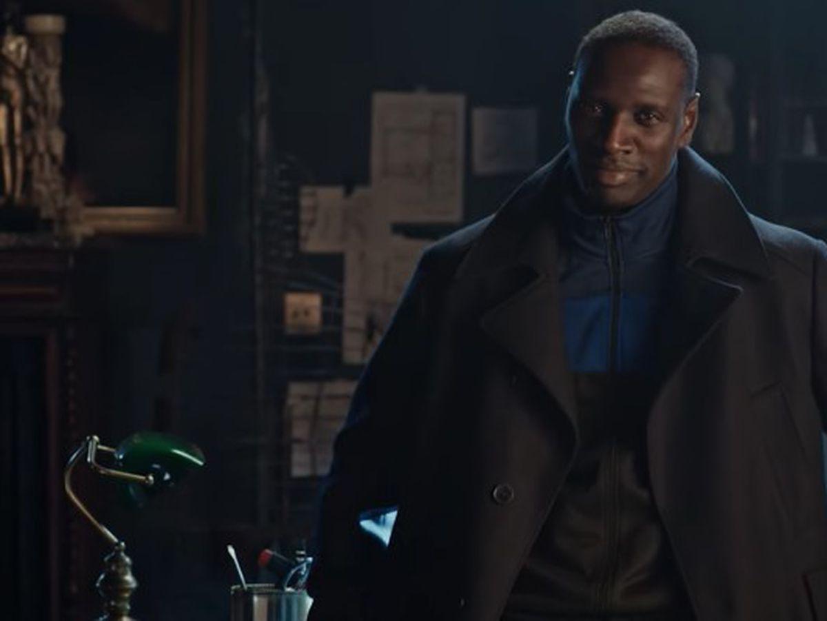 Omar Sy in Lupin – tense
