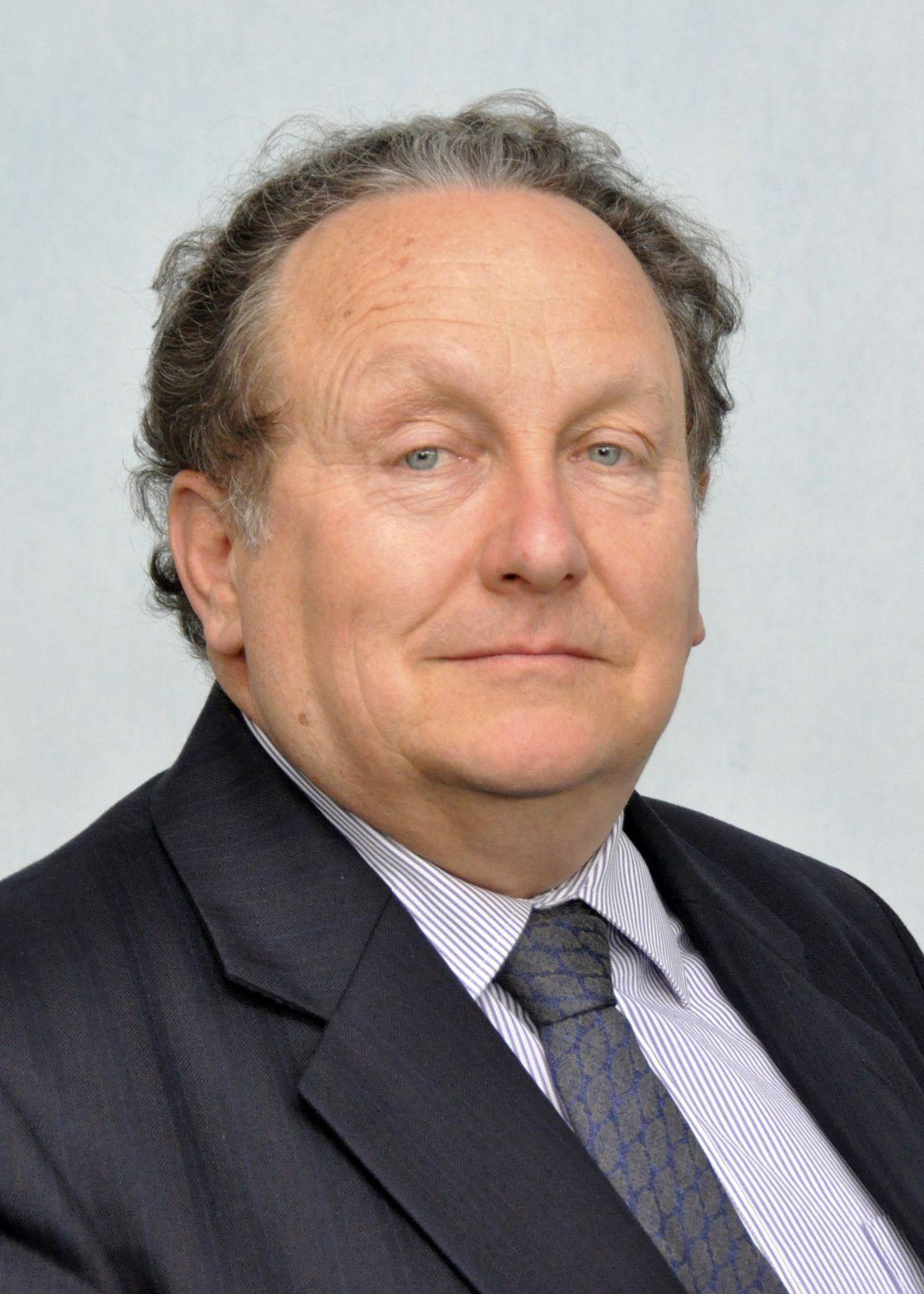 Much Wenlock Shropshire Councillor David Turner,