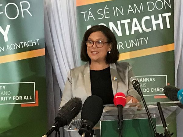 SF president urges DUP to commit to 'real powersharing'
