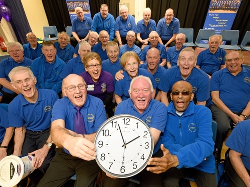 WATCH: Telford choir sing their hearts out to raise money for charity